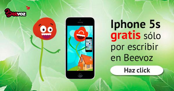 ¿Quieres ganar un iPhone 5S con Beevoz?